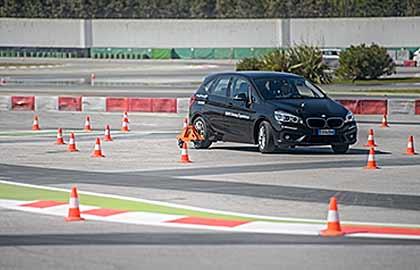 Corso Guida con skid car