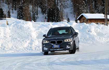 Slalom sulla neve